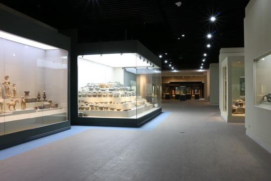 郑州段展厅实景