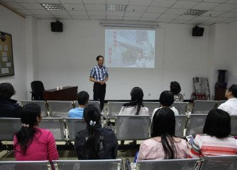 台湾科学工艺博物馆馆长陈训祥应邀来我馆作专题讲座