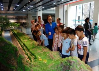文博源小学学生参观安阳博物馆