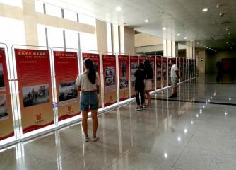 安阳博物馆举办《爱我中华 扬我国威 ——庆祝中国人民解放军建军90周年》图片展